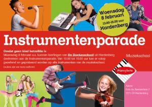 Instrumentenparade 8 feb 2017