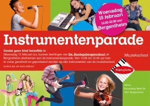 Instrumentenparade feb 20172 Bergentheim